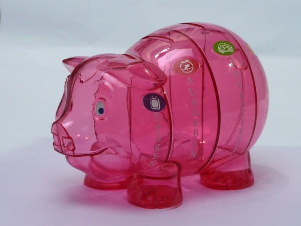 Sparschwein pink – D