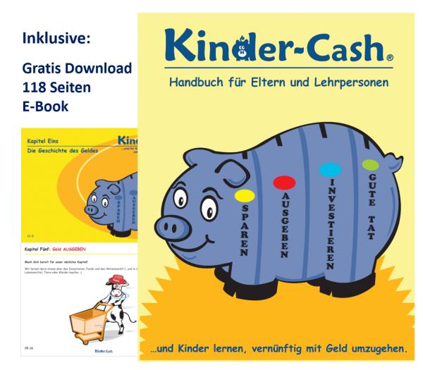Elternheft, inkl. Ebook mit Geldkurs auf 118 farbigen Seiten